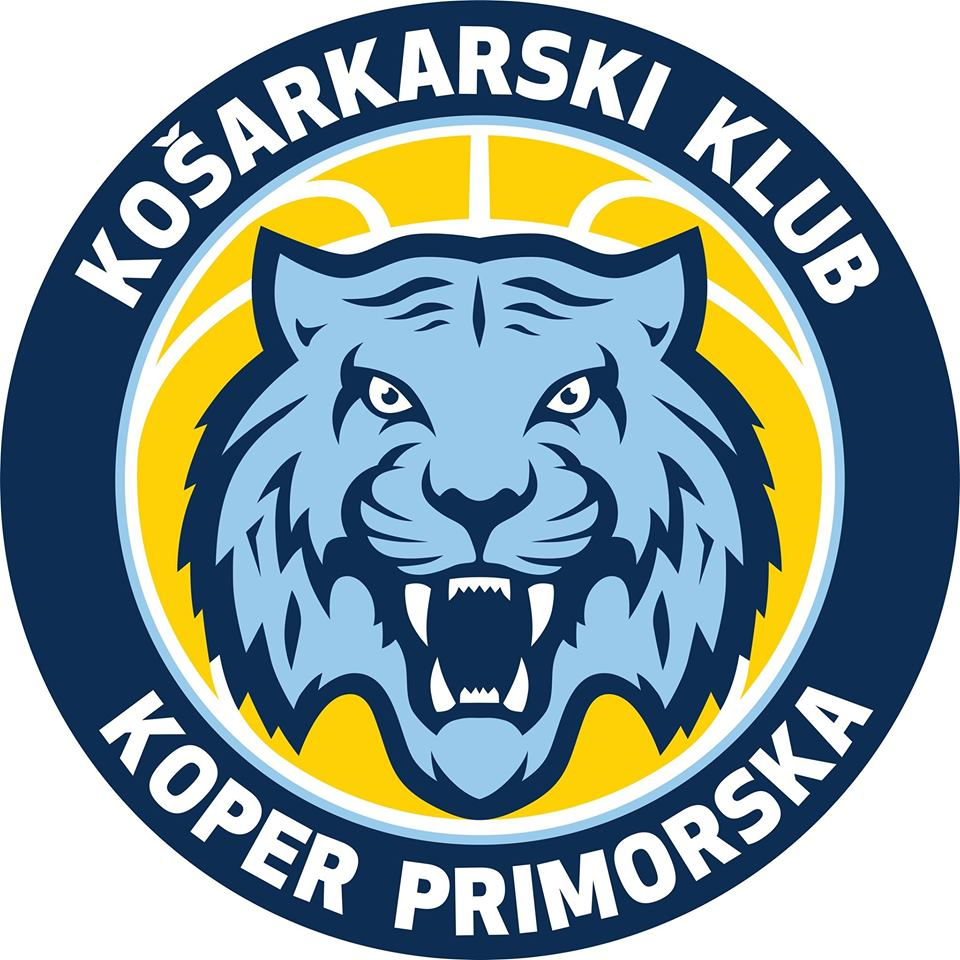 Tickets for Koper Primorska : Partizan NIS, 12.10.2019 um 18:00 at Dvorana Bonifika, Koper